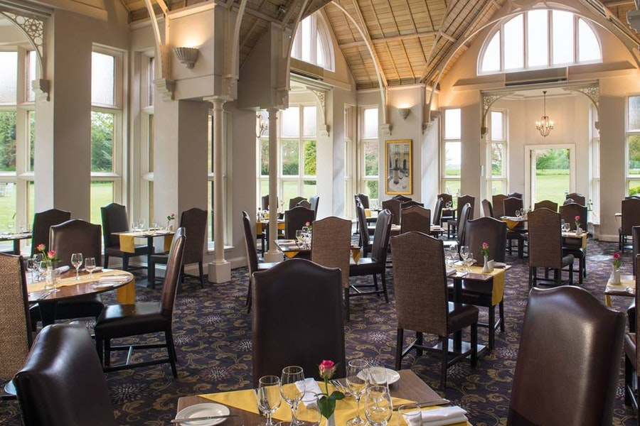 The Conservatory Restaurant at Audleys Wood