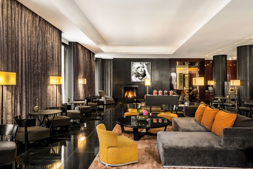 The Lounge at Bvlgari Hotel London