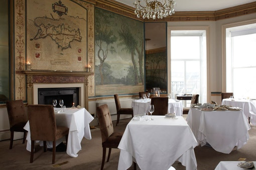 The Island Room at Priory Bay Hotel