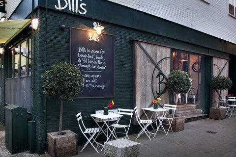 Bill's Restaurant Exeter
