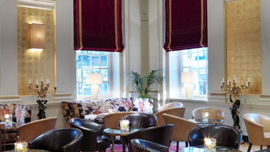 Lutyens Lounge at The Bloomsbury Hotel (afternoon tea)