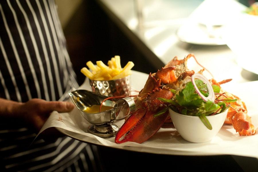 Burger and Lobster Harvey Nichols