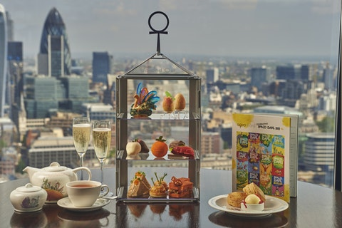 Afternoon tea at The Shard: Aqua Shard