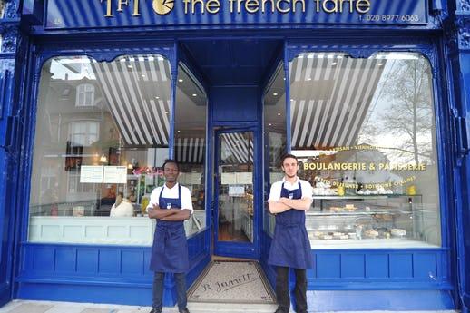 The French Tarte Teddington