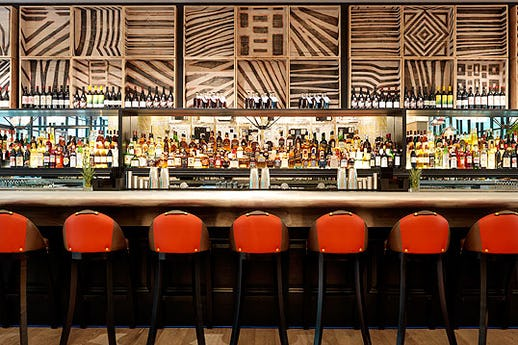 Ham Yard Bar at Ham Yard Hotel