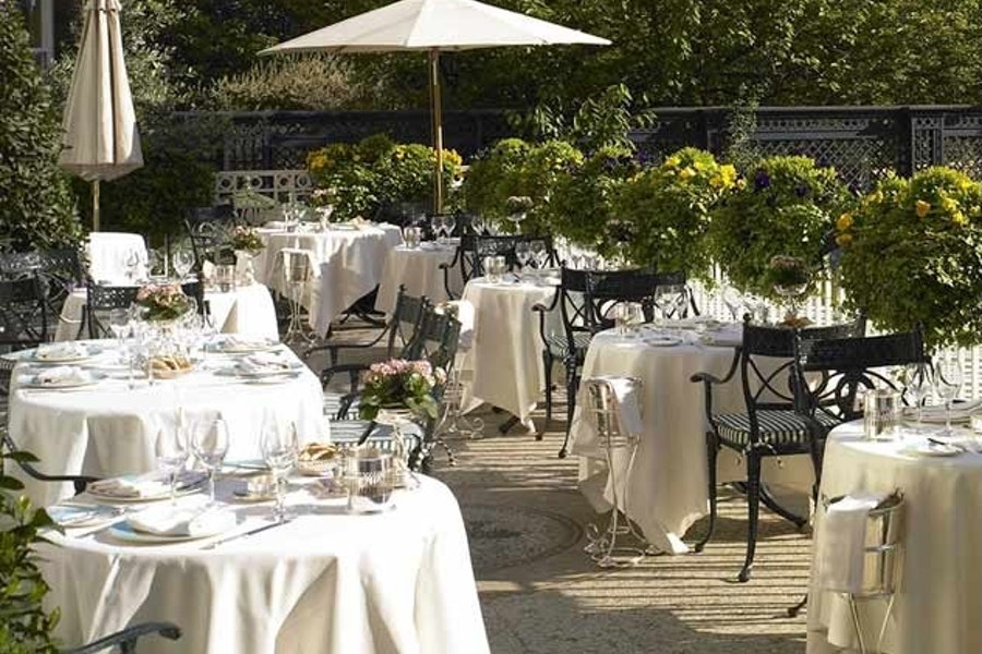 The Garden Bar, Champagne Terrace at The Ritz London