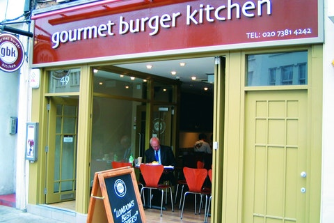 Gourmet Burger Kitchen Fulham