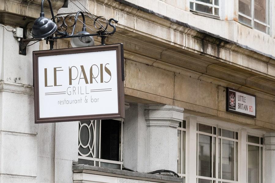 Le Paris Grill St Paul's