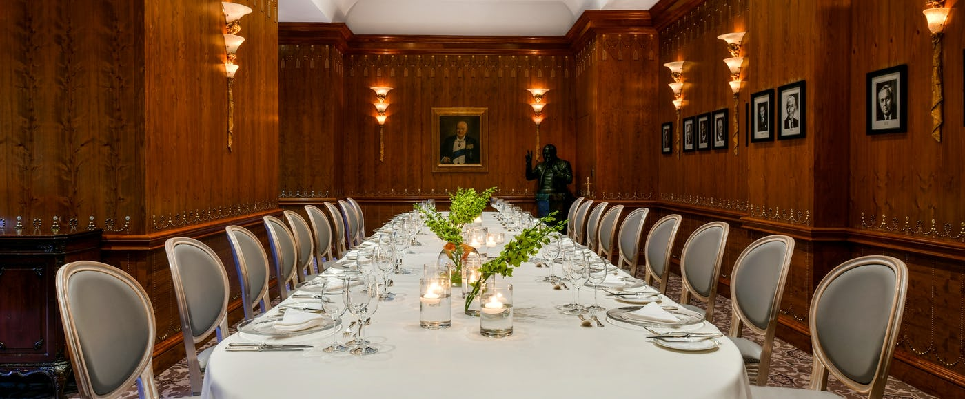 Private & Group Dining Rooms near London