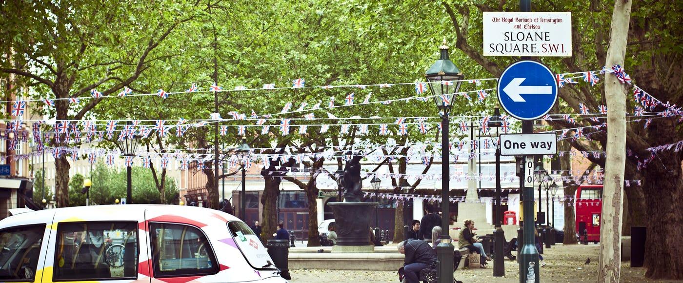 Pizza Restaurants near Sloane Square London