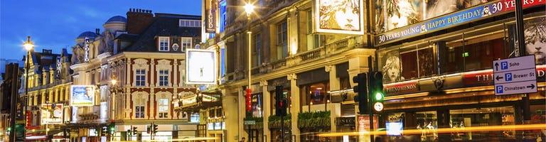 Christmas party venues near Soho London