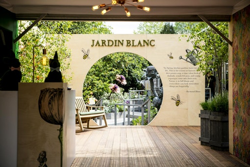 Jardin Blanc at the RHS Chelsea Flower Show