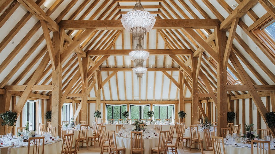 The Old Kent Barn In Kent