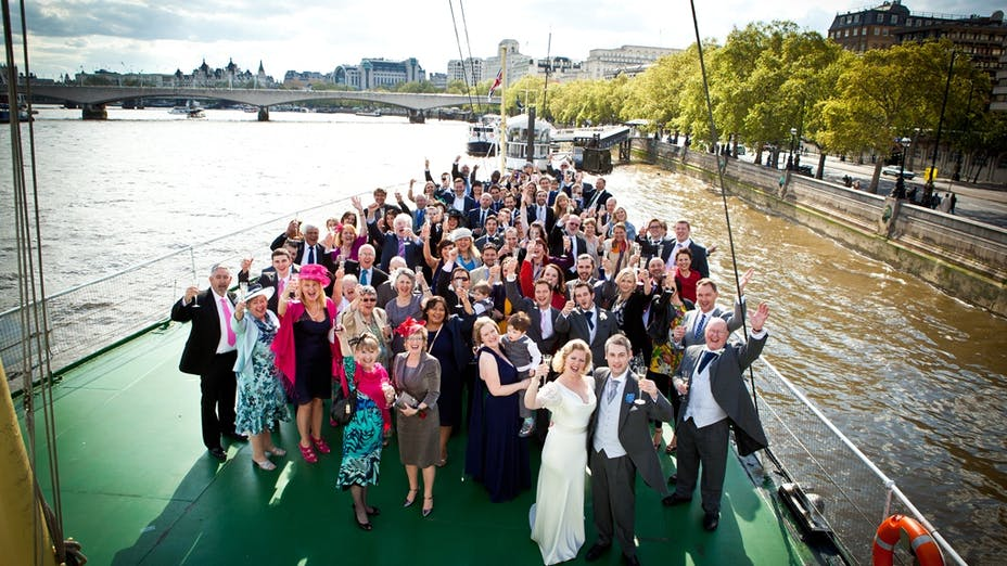 Weddings on HQS Wellington