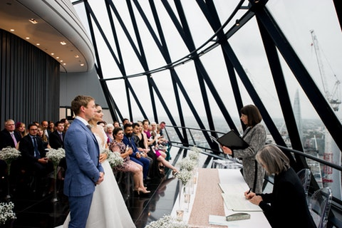 Weddings at Searcys at The Gherkin