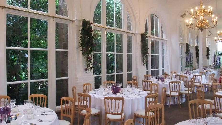 Weddings at The Orangery at Holland Park
