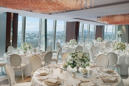 Weddings at Shangri-La Hotel, At The Shard, London