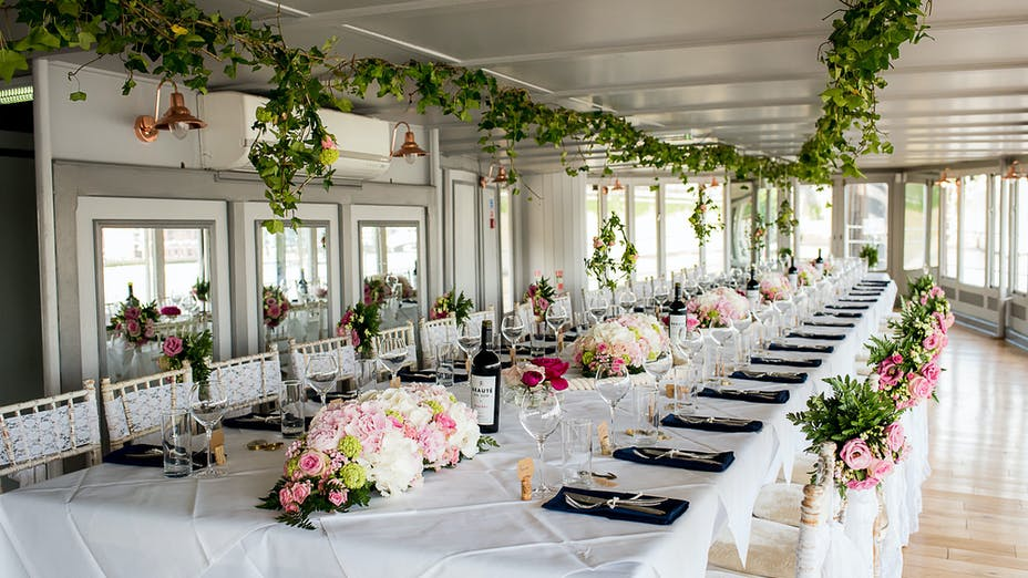 Weddings at The Yacht London