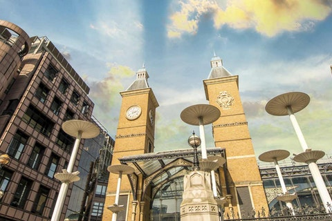 Recommended London venues to hire near Moorgate & Liverpool Street